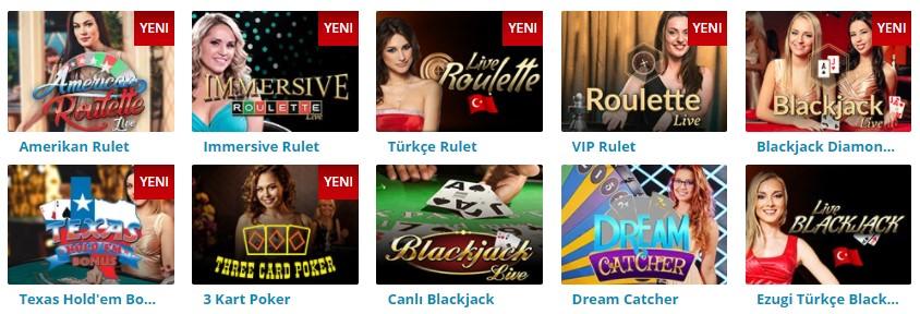 Casino Slot Canlı Casino Oyunları